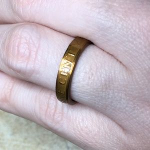 1982 US Vintage Lucky Penny Coin Ring Size 5.25